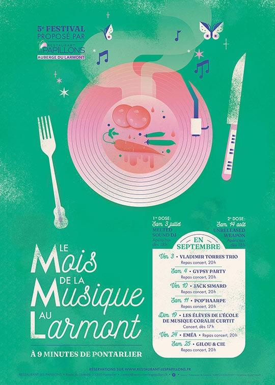 Le mois de la musique au Larmont